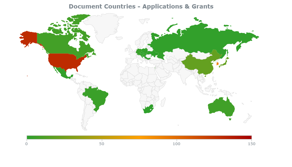 Samsung Pharma patents by country