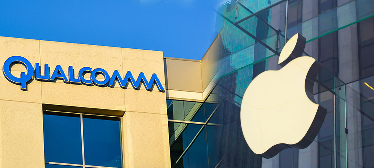 Apple and Qualcomm Battle Over Patent Royalties