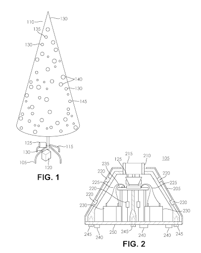 Holiday patents