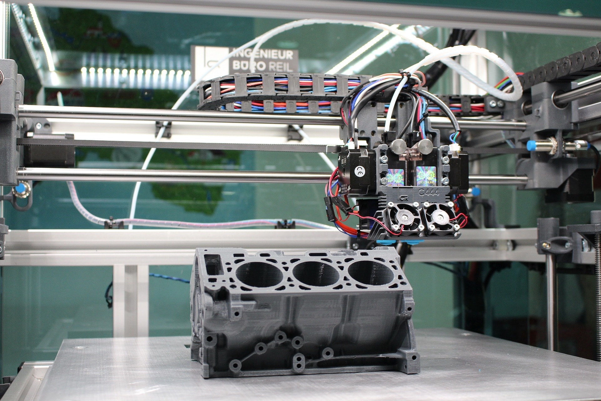 3D Printing: Copying and Creation in a Cutting-Edge Industry