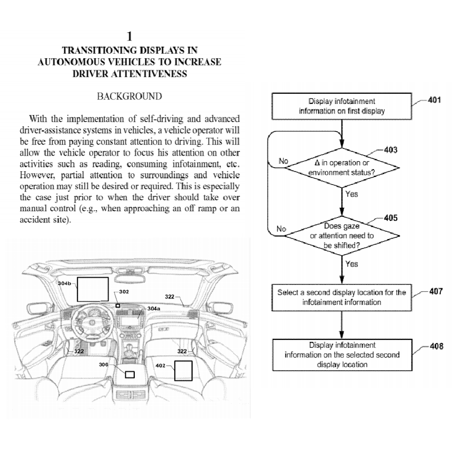 autonomous vehicles patent