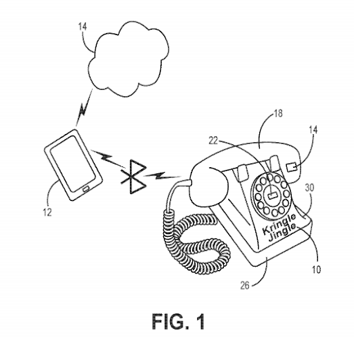 Holiday telephone apparatus, system and method