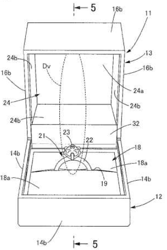 jewelry box patent