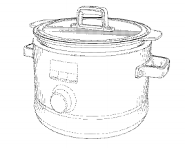 Slow Cooker Patent Image